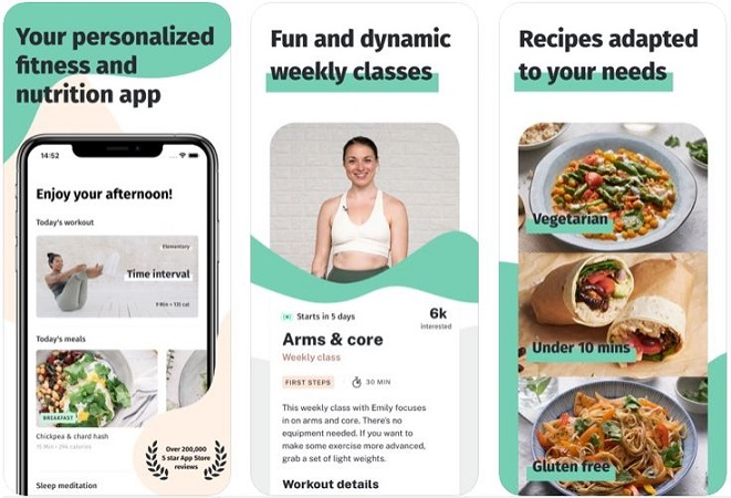 8fit - Workout and Meal Planner