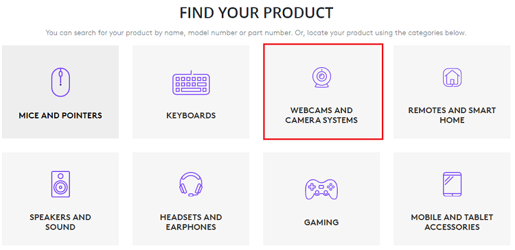 select Webcams and Camera Systems