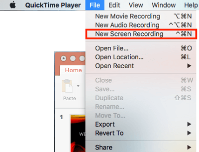How to record the Mac screen with audio