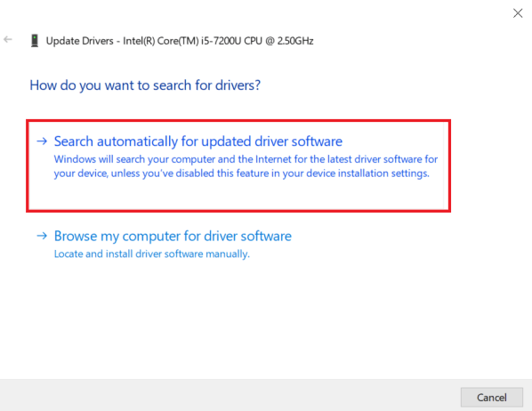 Download Dell wireless driver update using Device Manager-2