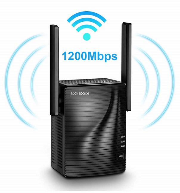 Rock Space AC1200 Wi-Fi Range Extender