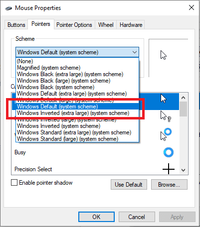 Change Mouse Pointer-6