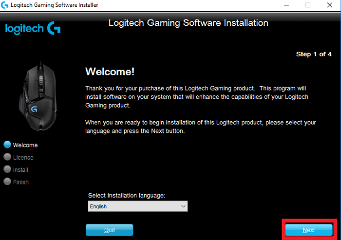 Download Logitech Gaming Software & install it via Logitech Support-2
