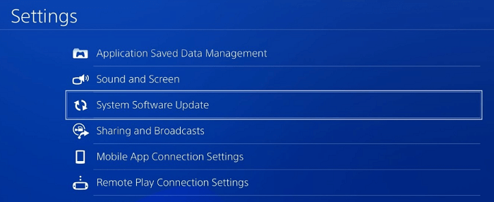 Update The System Software Of PS4 Console-2