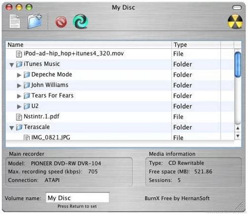 BurnX - Mac DVD Burning Software