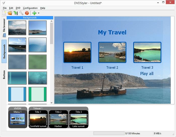 DVDStyler - The Best Mac DVD Burning Software