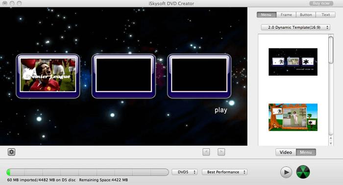 iSkysoft DVD Creator for Mac - Free DVD Burner for Mac