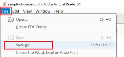 Create the PDF file Again
