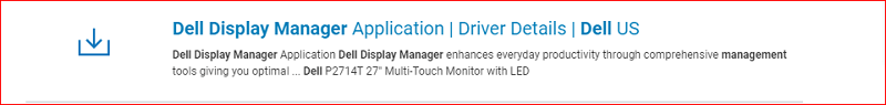 How to download Dell Display Manager-1