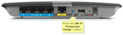 Connect the printer using the WPS push button