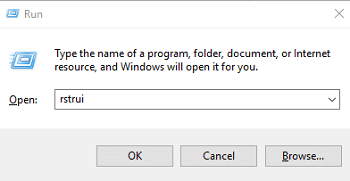 Restore The Previous Version Of Windows System