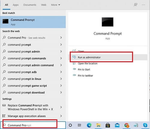 Run DISM (Deployment Image Servicing and Management) and System File Checker (SFC) Command