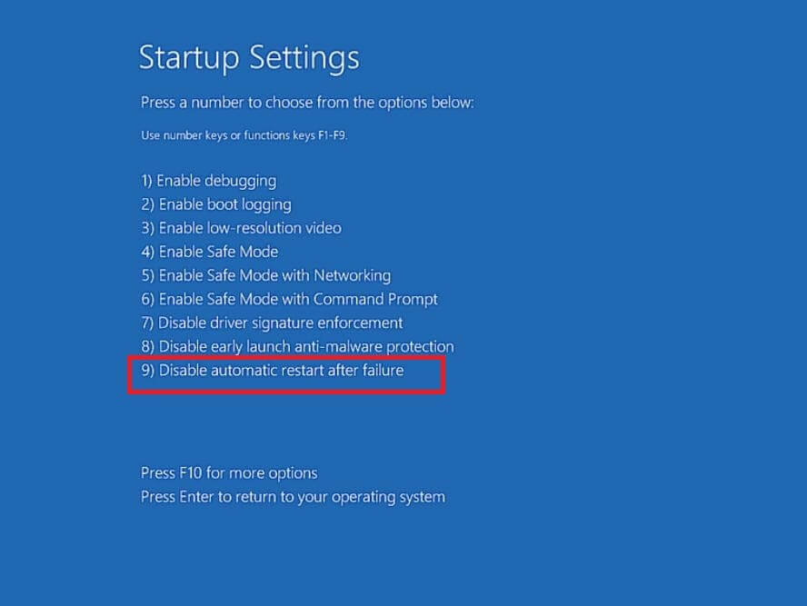Disable Automatic Restart After Startup Repair Failure-3