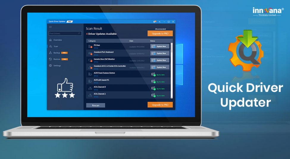 Review of Quick Driver Updater- One of the Quickest Driver Updaters