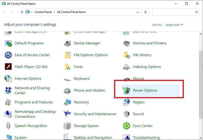 Configure Power Options-1