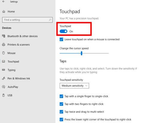Fix Lenovo Touchpad Problem
