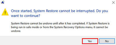 Perform system restore-4