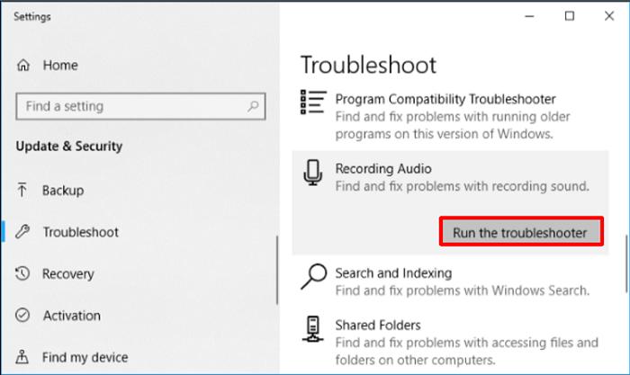 Perform hardware troubleshooting