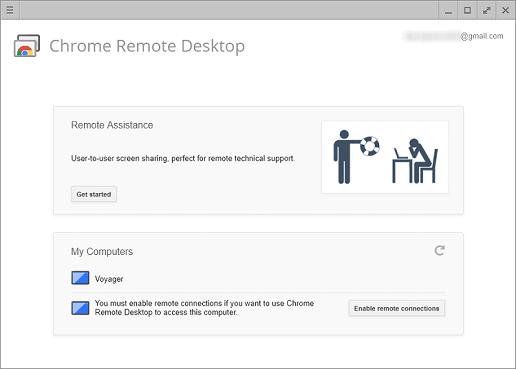 Chrome Remote Desktop - Best open source TeamViewer alternative