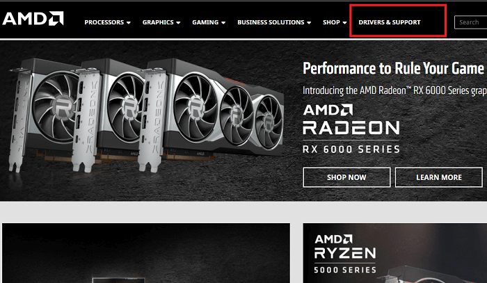 Download AMD Radeon RX 6900 XT Driver From AMD's Website
