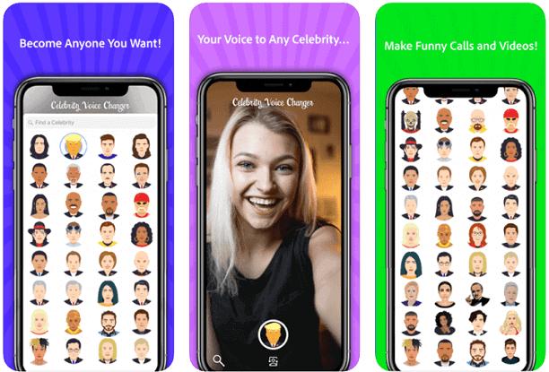 Celebrity Voice Changer – Face