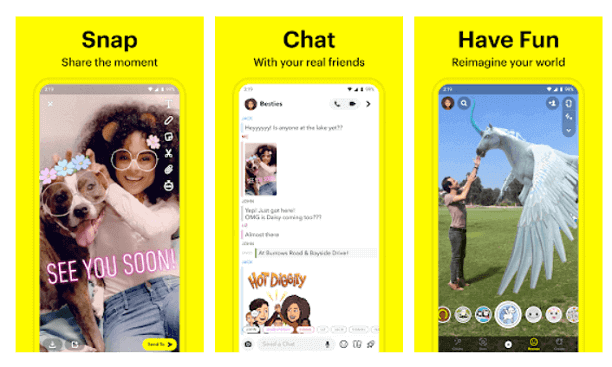Snapchat- the voice changer app
