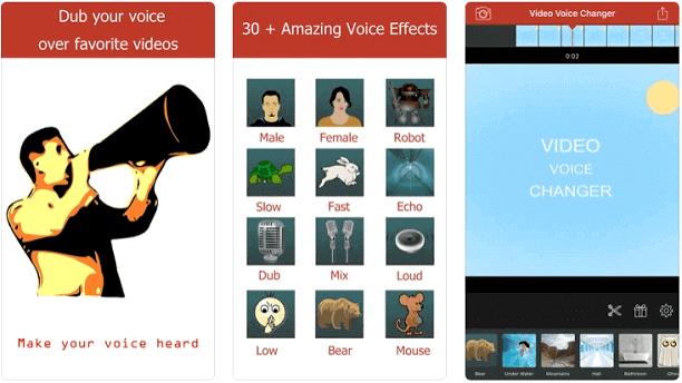 Video Voice Changer-Fun Editor.