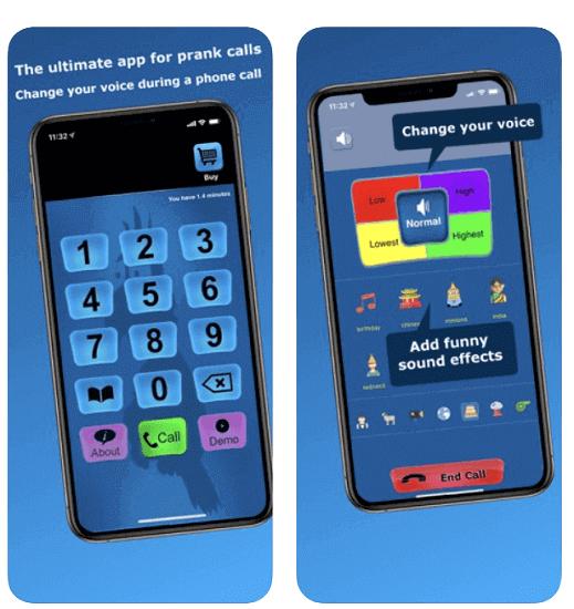 Call Voice Changer-Fun Editor
