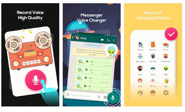 Voice Changer Voice Recorder – Editor & Effect