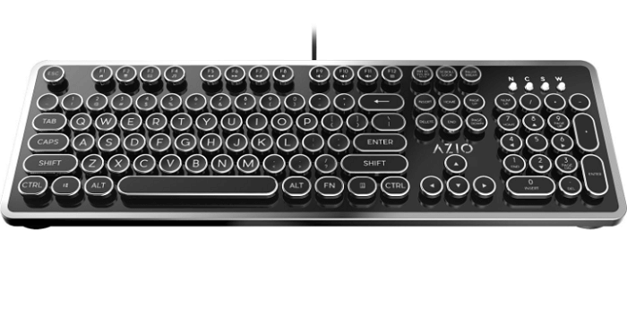 AZIO MK Retro Mechanical Keyboard