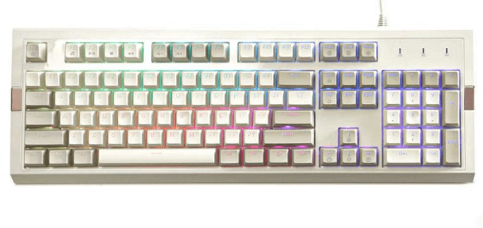 Epomaker Ajazz AK510 RGB Retro Mechanical Keyboard