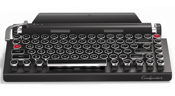 Qwerkywriter S Typewriter Inspired Retro Mechanical Keyboard