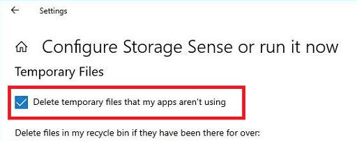 Use Storage Sense Feature-7