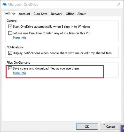 Try OneDrive Files On-Demand Feature-3