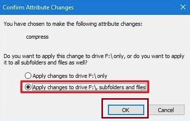 Enable Windows 10 NTFS Compression-7