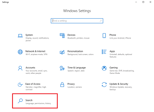 Rebuild Or Configure Windows 10 Search Indexer-2