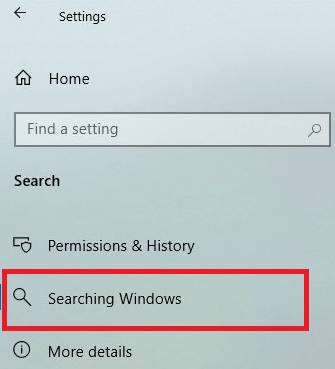 Rebuild Or Configure Windows 10 Search Indexer-3