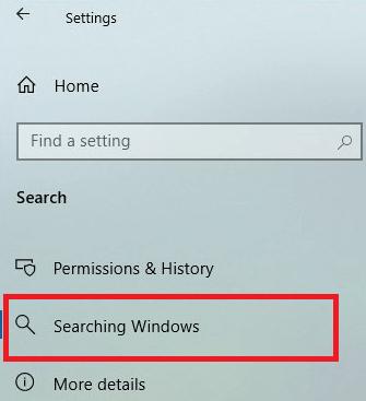 Rebuild Or Configure Windows 10 Search Indexer-10