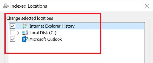 Rebuild Or Configure Windows 10 Search Indexer-14
