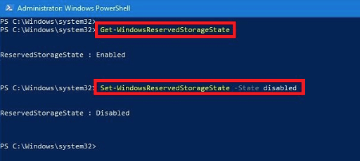 Disable Windows Reserved Storage-2
