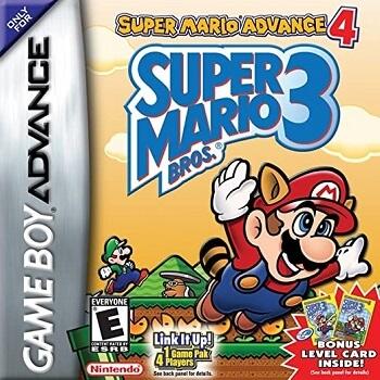 Super Mario Advance 4 Super Mario Bros 3
