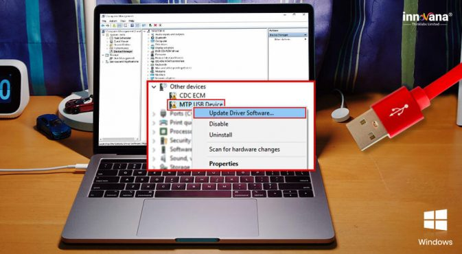 Download & Update MTP USB Driver On Windows