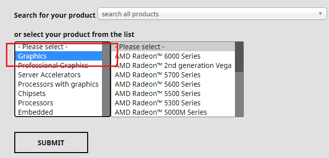 Update graphics drivers with the manufacturer website