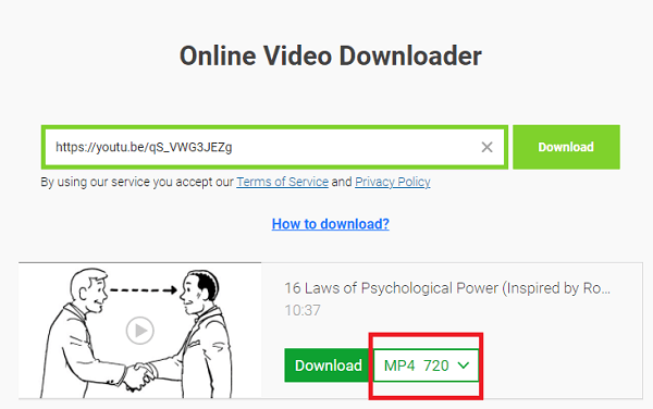 Download A Video Embedded In A Website Via Online Services-1