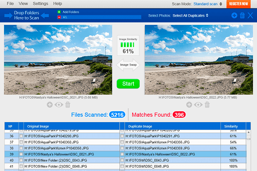 clean all duplicates with duplicate photo cleaner