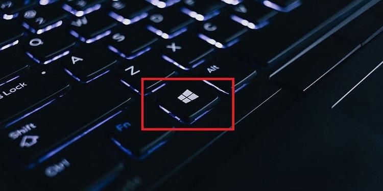Disable Game Bar- Hit the Windows key