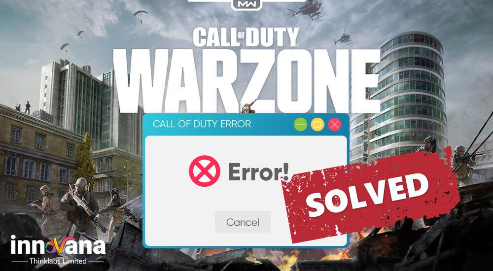 Call Of Duty Warzone Crashing/Freezing