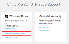 Download the drivers through the Wacom website-3