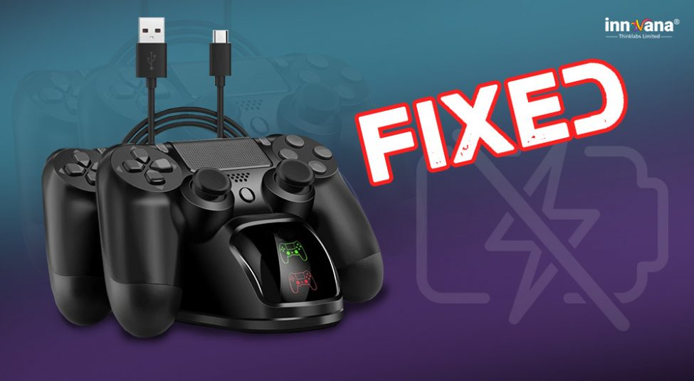 PS4 Controller Won't Charge [100% Working Troubleshooting Guide]