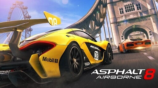 Asphalt 8 Airborne- Best racing game for Android